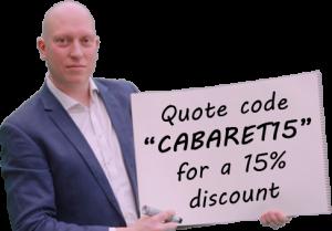 quote for magic cabaret show