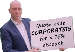 quote for corporate magician discount