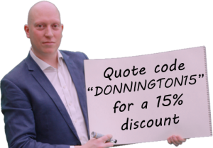 quote for donnington newbury magician