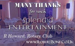 Thanks from Newbury Rotary Club