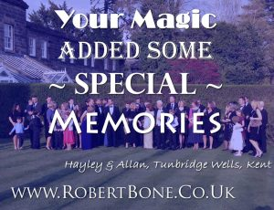 Tunbridge Wells wedding magic