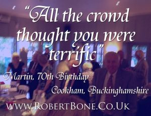 Buckinghamshire Birthday Magician Quote