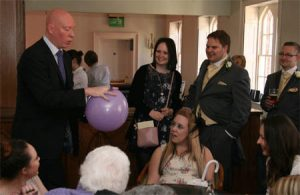 newbury wedding magician
