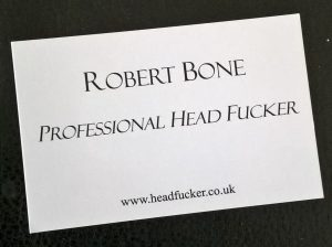 Professional Head Fucker Business Card