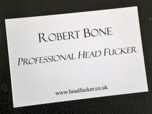 Professional Head Fucker Business Card