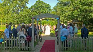 Wedding at Bishopswood Tadley