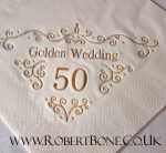 golden wedding anniversary magician