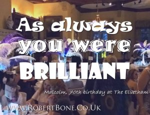 Elvetham Hotel Party Magician Quote