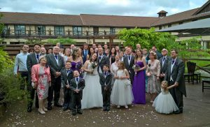 Hampshire Court Hotel wedding