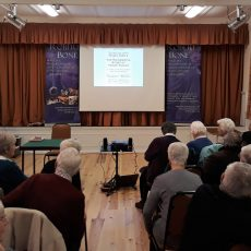 Talking about Roald Dahl's Henry Sugar at Brimpton WI